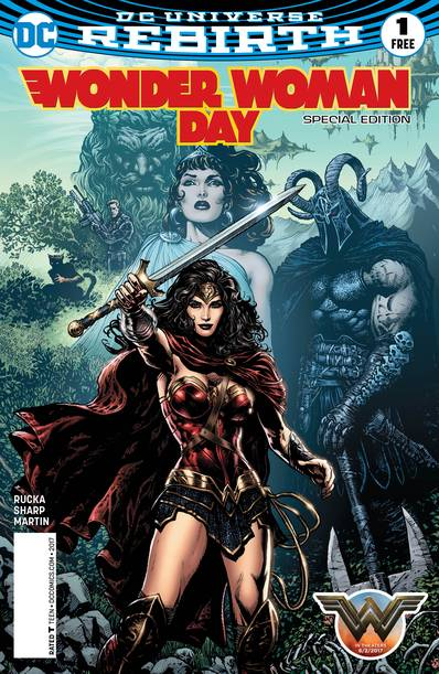 WONDER WOMAN DAY SPECIAL ED #1 (Net)